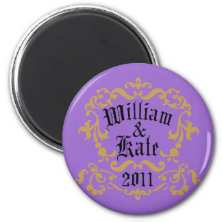William and Kate 2011 Magnet