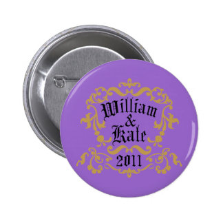 William and Kate 2011 Pinback Button