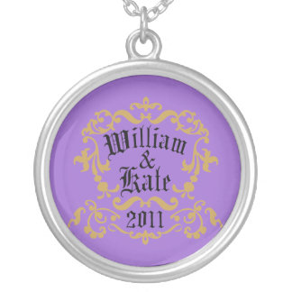 William and Kate 2011 Silver Plated Necklace