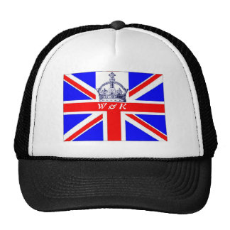 William and Kate cap Mesh Hats