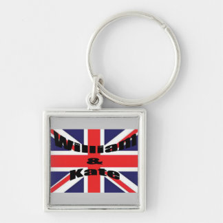 William and Kate Keychain