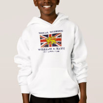 William and Kate Kid's Royal Wedding Hoodie