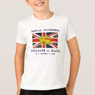 William and Kate Kid's Royal Wedding T-Shirt