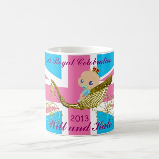 William and Kate Royal Baby commemorative mug #5