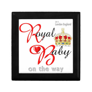 William and Kate Royal Baby on the way Gift Box