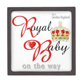 William and Kate Royal Baby on the way Jewelry Box