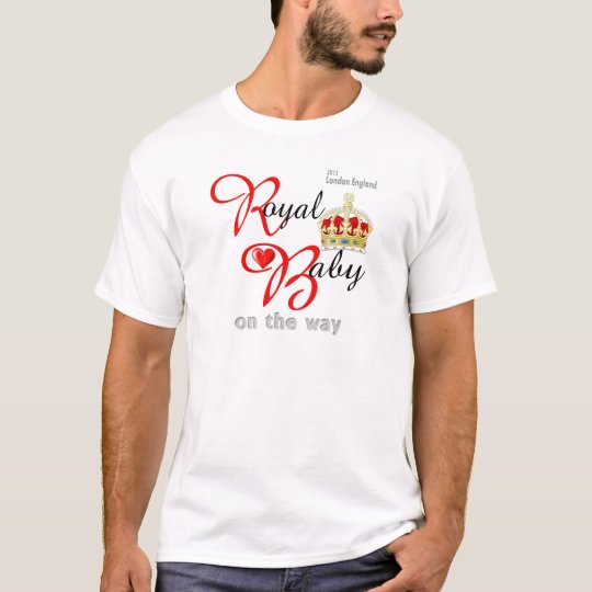 William and Kate Royal Baby on the way T-Shirt