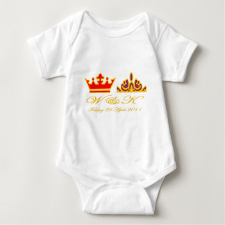 William and Kate Royal Wedding Baby Bodysuit