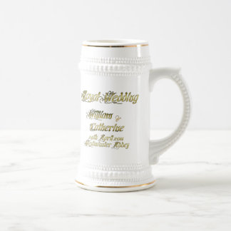 William and Kate Royal Wedding Collectibles Beer Stein