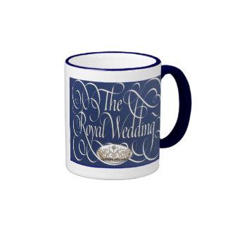 William and Kate Royal Wedding Collectibles Ringer Coffee Mug