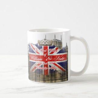William and Kate Royal Wedding Collectibles Classic White Coffee Mug