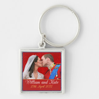 William and Kate Royal Wedding Kiss Keychains