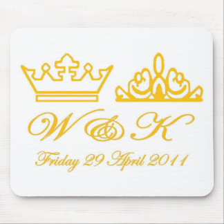 William and Kate Royal Wedding Mouse Pad