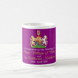 William and Kate Royal Wedding Classic White Coffee Mug