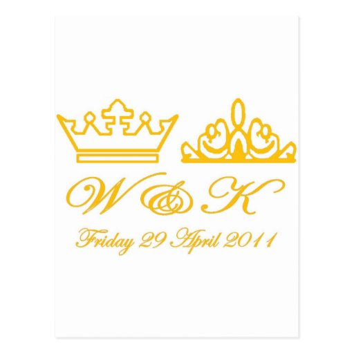 William and Kate Royal Wedding Post Cards