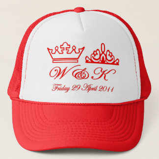 William and Kate Royal Wedding Trucker Hat