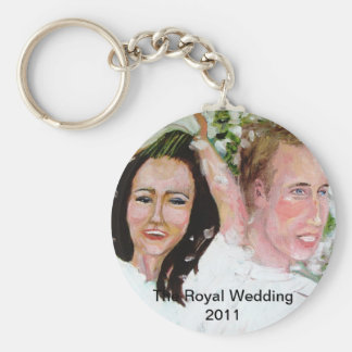 William and Kate souvenirs Keychain