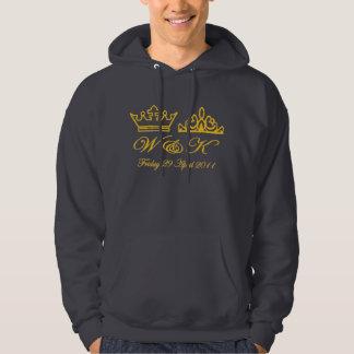 William and Kate Wedding Sweatshirt - Grey