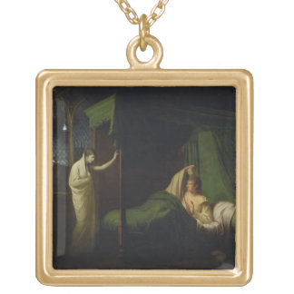 William and Margaret from the 'Reliques of Ancient Gold Plated Necklace
