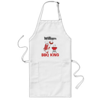 William Barbecue King Long Apron