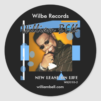 William Bell New Lease Cover Wil2010-2 Sticker