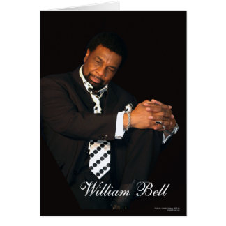 William Bell Rare Photo by Wilbe Records Card