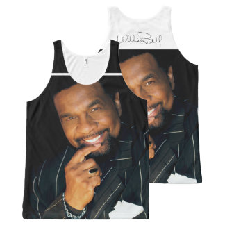 William Bell Recording Artist and Music Pioneer All-Over Print Tank Top