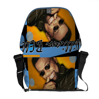 William Bell Recording Artist and Music Pioneer Messenger Bag