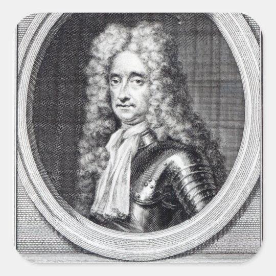 William Bentinck, 1st Earl of Portland Square Sticker