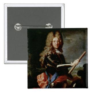 William Bentinck, Earl of Portland 2 Inch Square Button