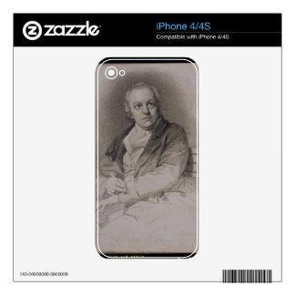 William Blake (1757-1827) engraved by Luigi Schiav Decals For iPhone 4