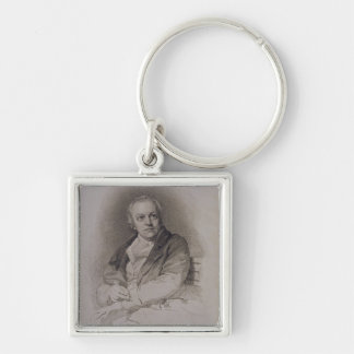 William Blake (1757-1827) engraved by Luigi Schiav Keychain