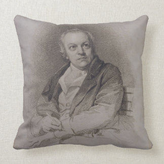 William Blake (1757-1827) engraved by Luigi Schiav Throw Pillow