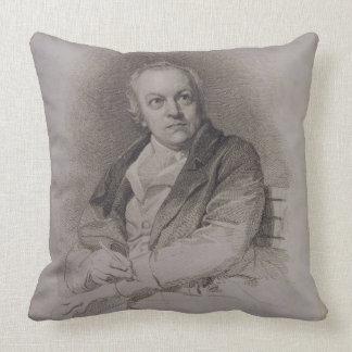 William Blake (1757-1827) engraved by Luigi Schiav Throw Pillow
