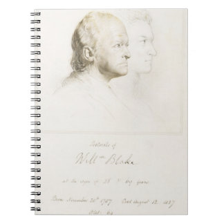William Blake (1757-1827) in Youth and Age (graphi Notebook