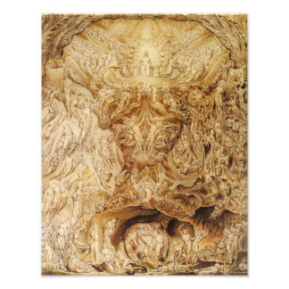 "William Blake 1808 ""Vision of the Last Judgment"" Photo Print"