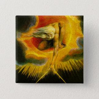 William Blake Ancient of Days Button