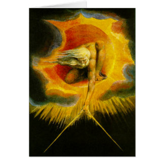 William Blake Ancient of Days Greeting Card
