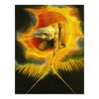 William Blake Ancient of Days 4.25x5.5 Paper Invitation Card