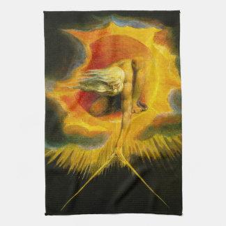 William Blake Ancient of Days Kitchen Towel