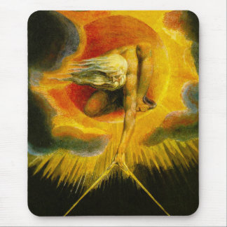 William Blake Ancient of Days Mouse Pad