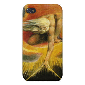 William Blake - Ancient of Days Painting  iPhone 4 Cover
