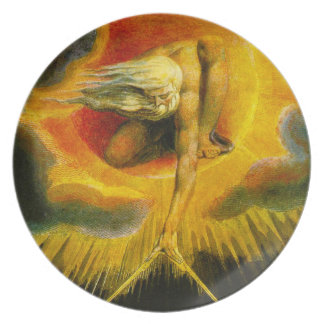 William Blake Ancient of Days Plate