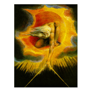 William Blake Ancient of Days Post Card