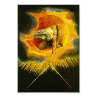 William Blake Ancient of Days Print Art Photo