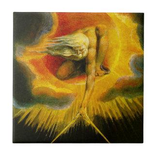 William Blake Ancient of Days Tile