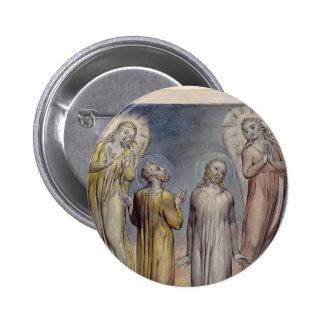William Blake-Andrew, Simon Peter Searching Christ Pin