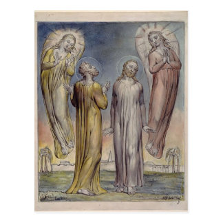 William Blake-Andrew Simon Peter Searching Christ Post Card