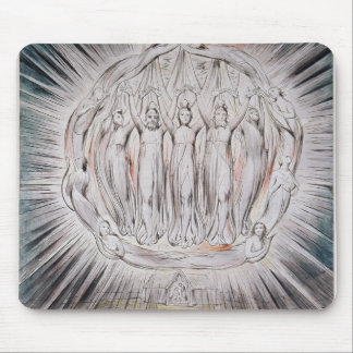 William Blake- Angels appearing to the Shepherds Mouse Pad