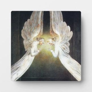 William Blake Angels Plaque
